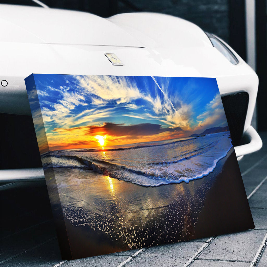 Stunning Beach Sunset Canvas Set - Canvasist