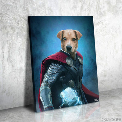 Power of Hammer Pet Canvas - Canvasist
