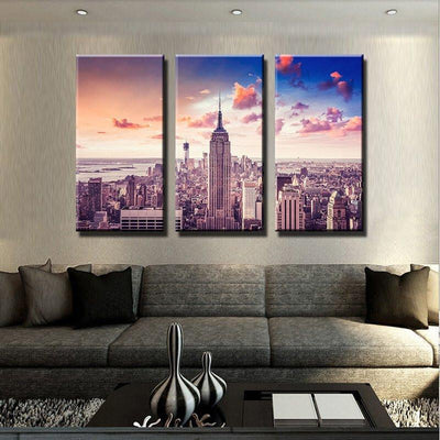 New York Skyscrapers Canvas Set - Canvasist