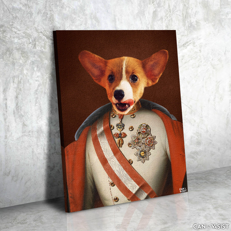 Adorable Prince Pet Canvas