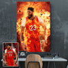 Custom Sports Player Canvas - Canvasist