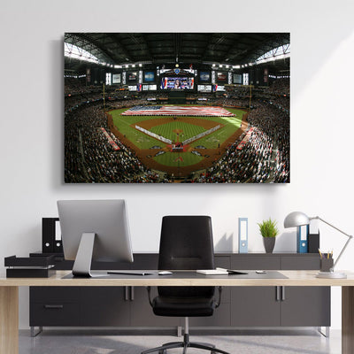 The D-Backs Stadium Canvas Set - Canvasist