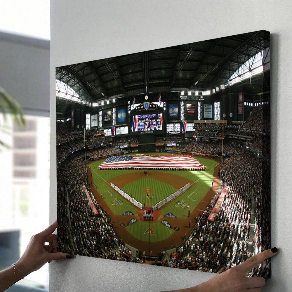 Arizona Diamonbacks Stadium Canvas Set - Canvasist