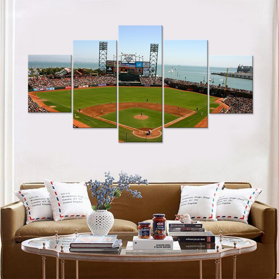 AT&T Stadium San Francisco Giants Canvas Set - Canvasist