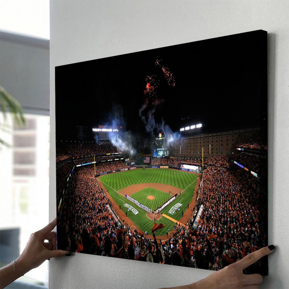 Baltimore Orioles Stadium Canvas Set - Canvasist