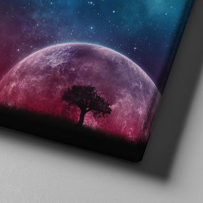 Beneath the Shadow of Moon Canvas Set - Canvasist