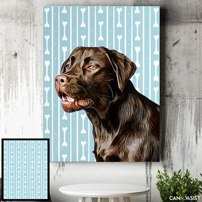 Patterns Background - Pet Canvas