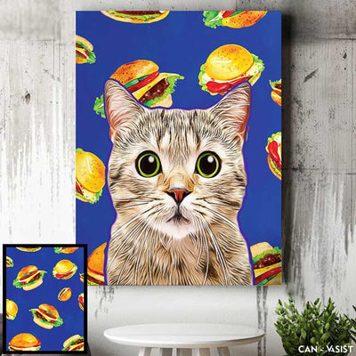 Munchies Background - Canvasist