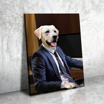 Branch Manager Pet Canvas
