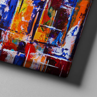 Chaos Abstract Art - Canvasist