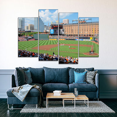 The O's Stadium 2 Canvas Set - Canvasist