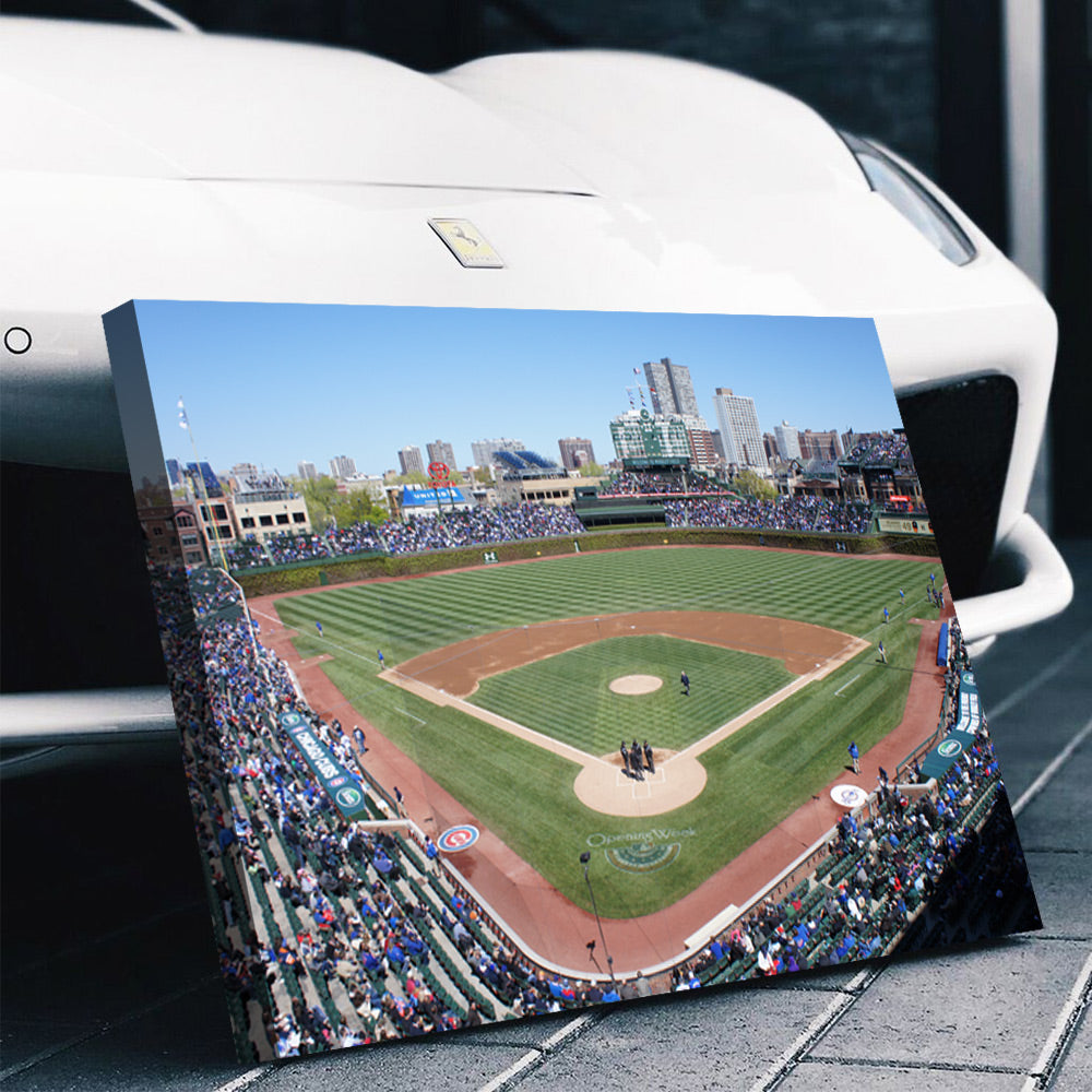 Chicago Cubs Stadium Canvas Set - Canvasist