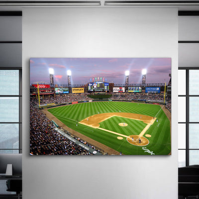 The ChiSox Stadium 3 Canvas Set - Canvasist