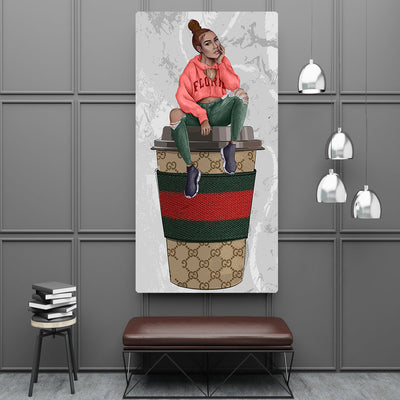 Italian Coffee Club Art - Canvasist