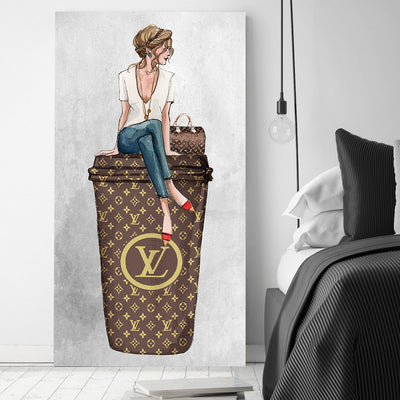 Sip of Luxury Art - Canvasist