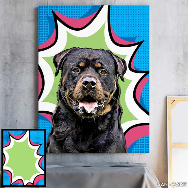 Pop Backgrounds - Pet Canvas
