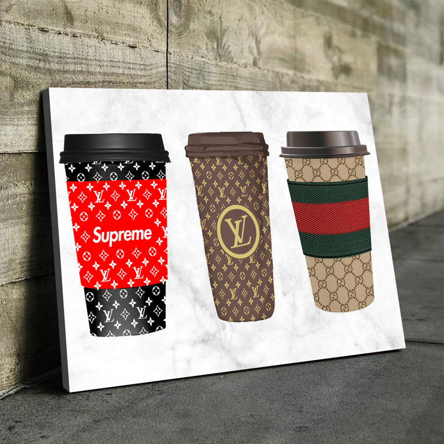 Cups of Luxury Art - Canvasist