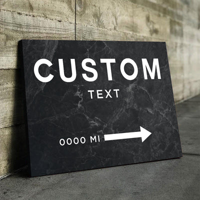 Custom Couture Wall Sign - Canvasist