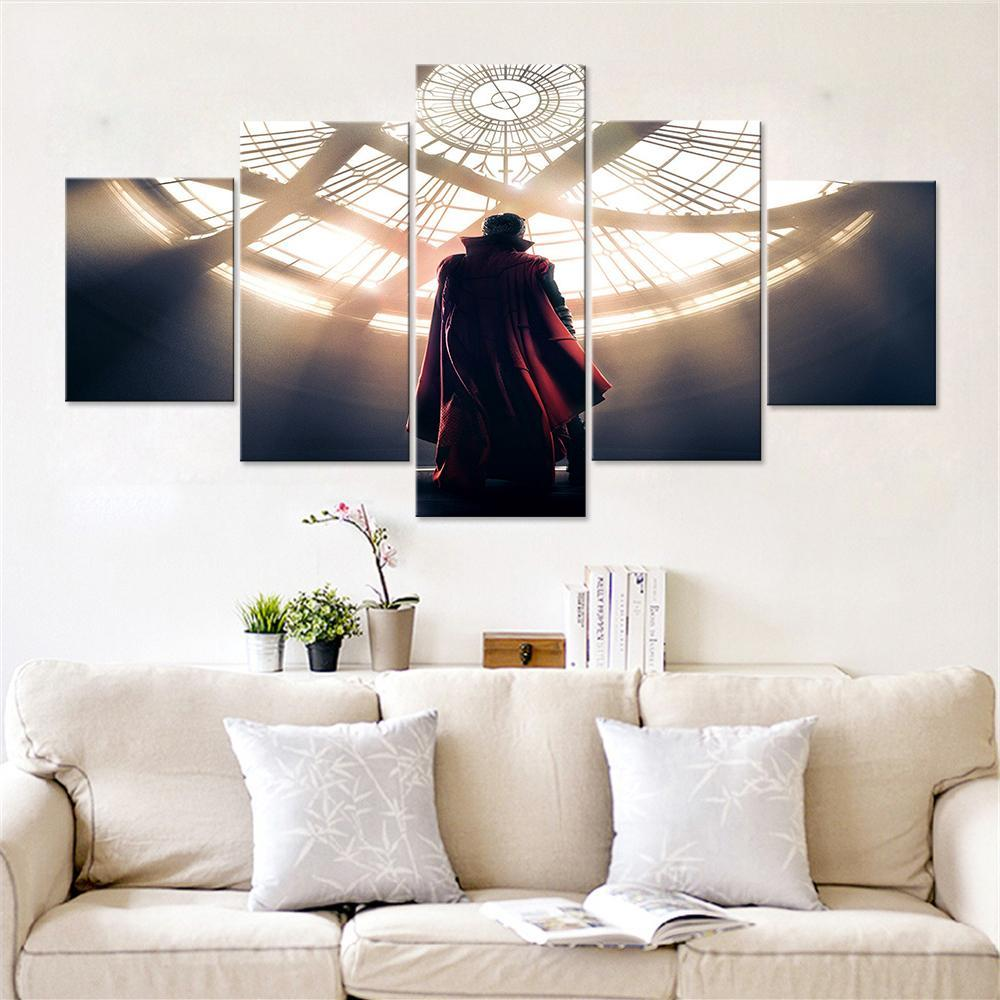 The Sorcerer Supreme Canvas Set - Canvasist