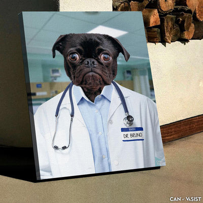 Dogtor Pet Canvas - Canvasist