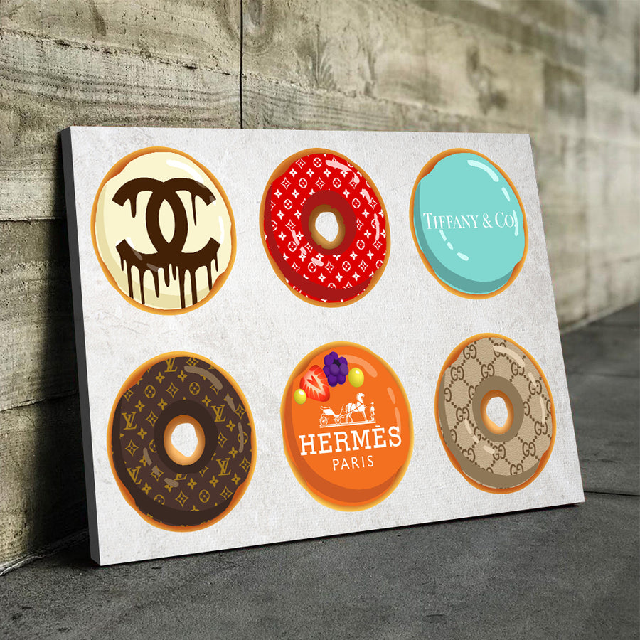 Fashion Donuts Art - Canvasist