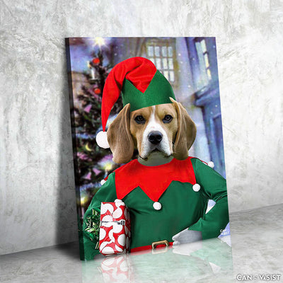 Little Elf Pet Canvas