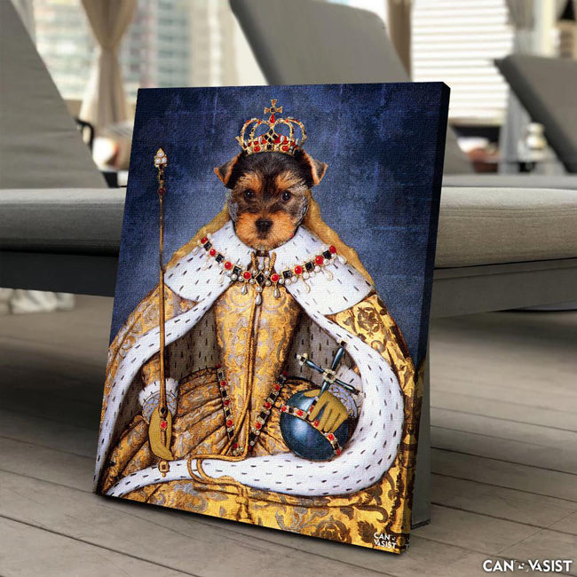 Empress Pet Canvas