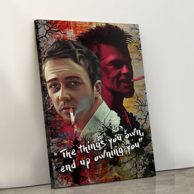 The things you own Canvas Set - Canvasist