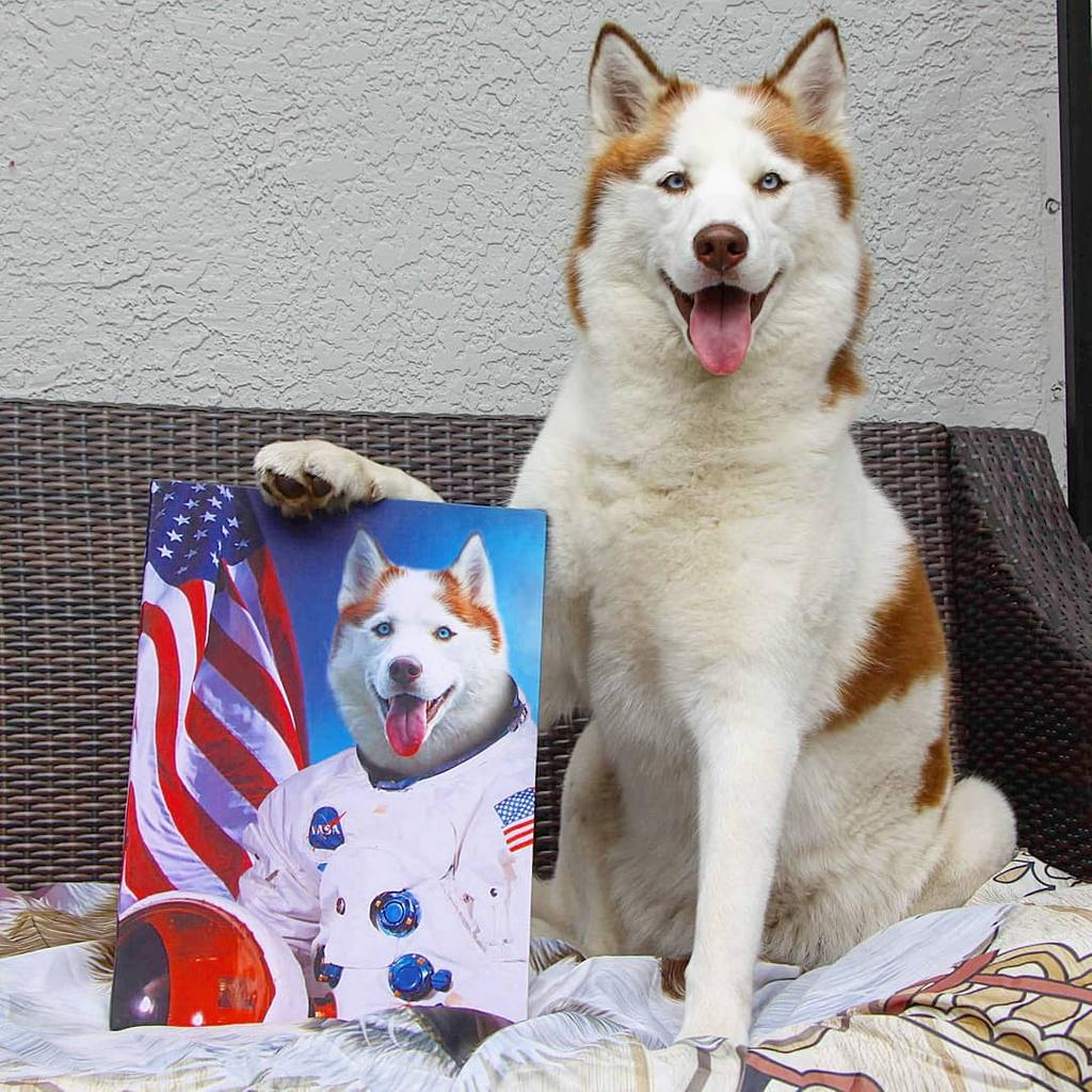 Astrodog Pet Canvas - Canvasist