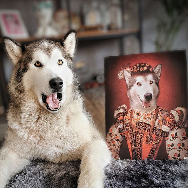 The Princess Pet Canvas