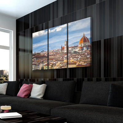 Florence City Top View Canvas Set - Canvasist
