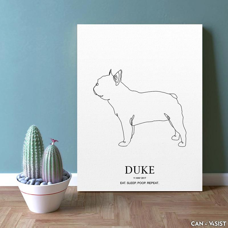 French Bulldog - Canvasist