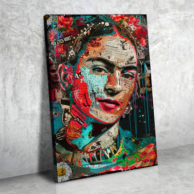 Graffitti Frida Art - Canvasist