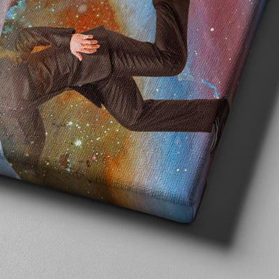 Into the galaxy canvas set - Canvasist