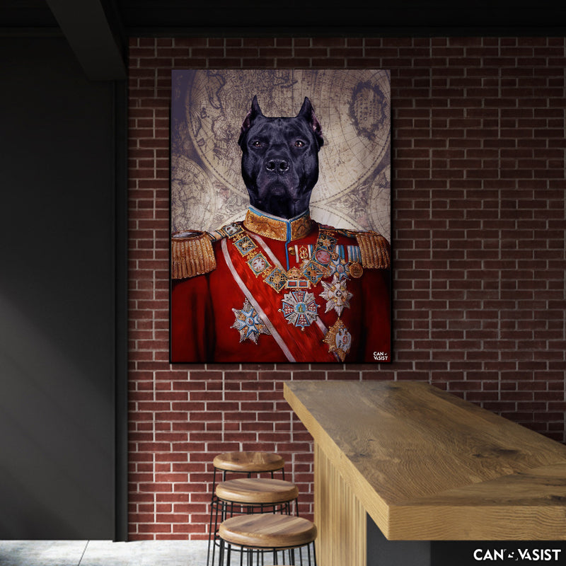 The General Pet Canvas - Canvasist