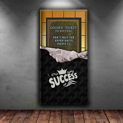 Golden ticket to success - Canvasist