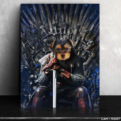 Game Of Bones Pet Canvas - Canvasist