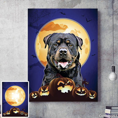 Spooky Background - Pet Canvas