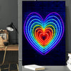 Radiant Heart Art - Canvasist