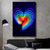 Light up the Heart Art - Canvasist