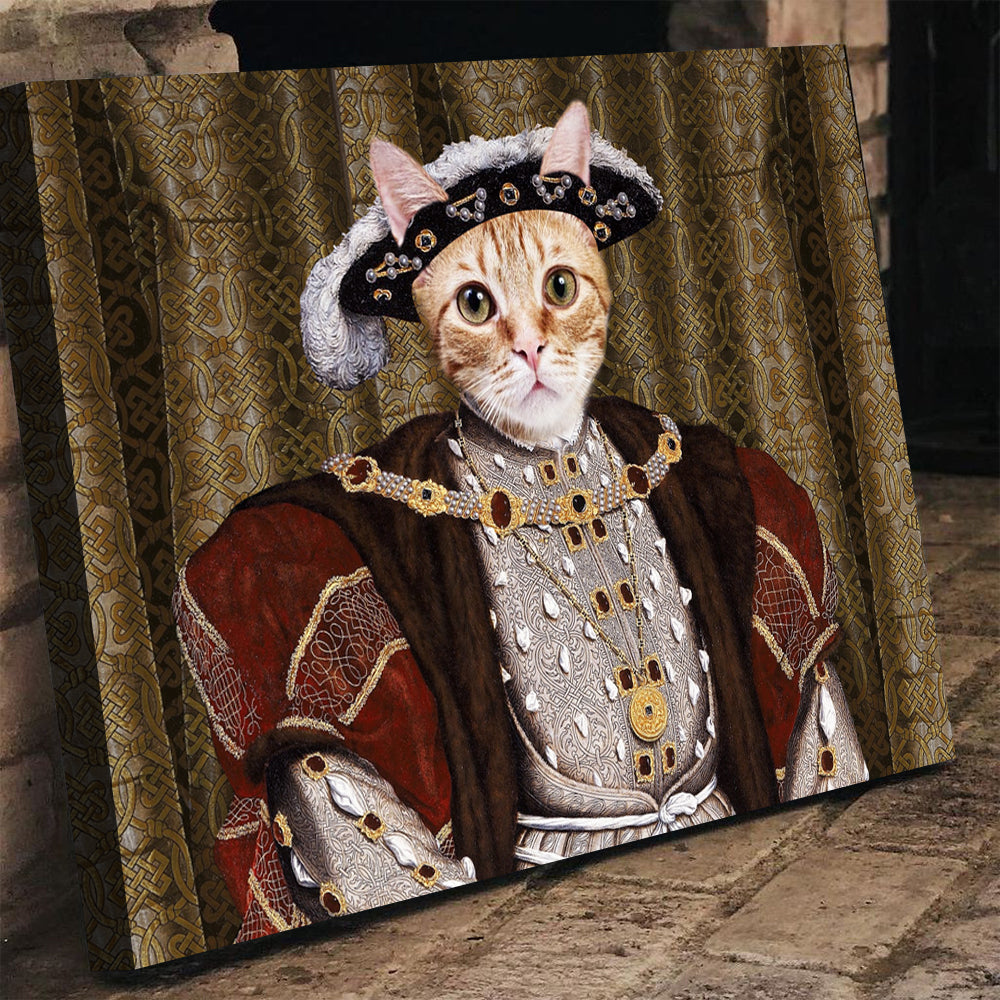 King Henry Pet Canvas - Canvasist