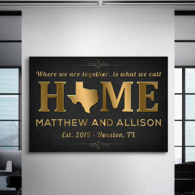 Custom Home with State - Canvasist