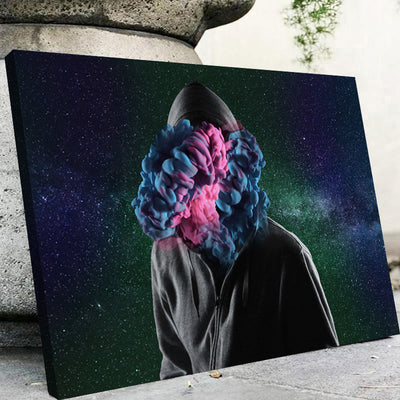 Lost In Galaxy Canvas Set - Canvasist