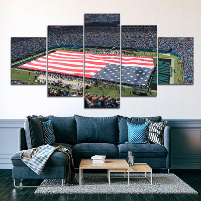 The Panthers Stadium Canvas Set - Canvasist