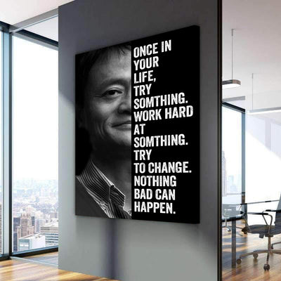 Jack Ma - Canvasist