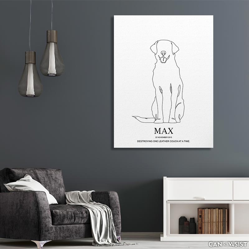 Lab retriever - Canvasist