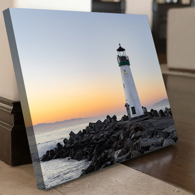Lone Lighthouse  Canvas Set - Canvasist
