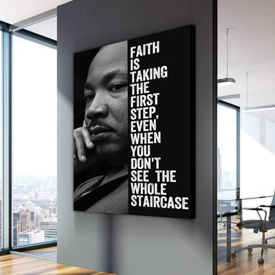 Martin Luther King - Canvasist