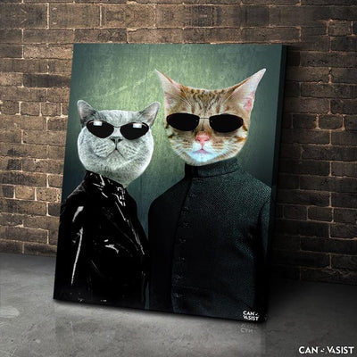 Matrix Pet Canvas