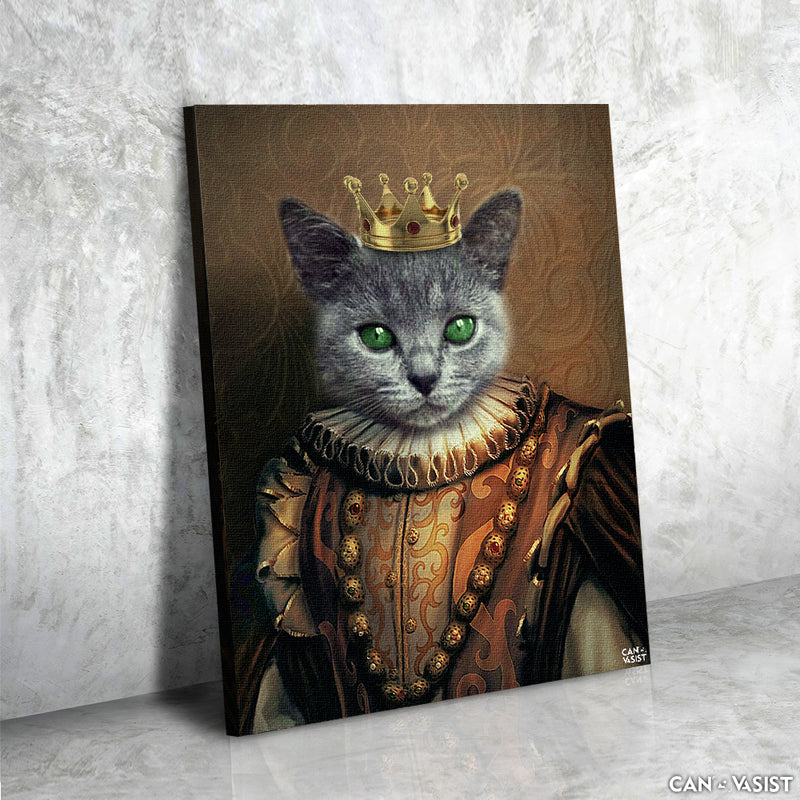 The Medieval King Canvas - Canvasist